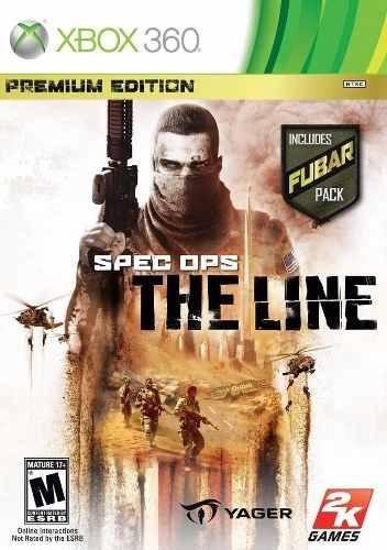 Specops The Line Xbox 360 Xbox One Original