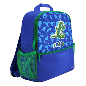 Mochila Escolar Infantil Azul Jacki Design