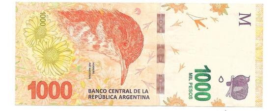 Hornero Pesos 1000 Reposicion