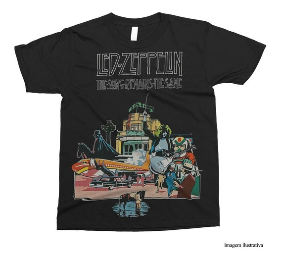 Camiseta Led Zeppelin - The Song Remains The Same