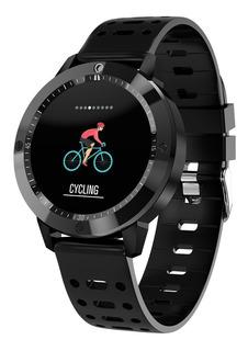 Relogio Smartwatch Cf58 Inteligente Preto