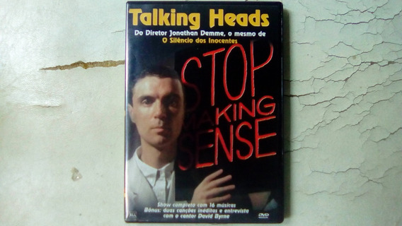 Dvd Talking Heads - Stop Making Sense 1983