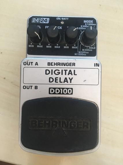 Pedal Behringer Digital Delay Dd100