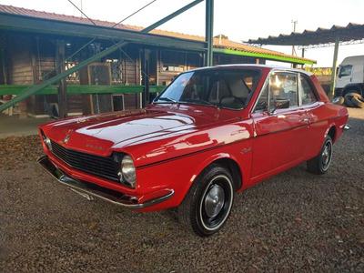 Ford Corcel - 1974 - 2 Portas - Vermelho