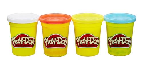 Play-doh 4 Pack De 4 Onzas - Colores Clásicos