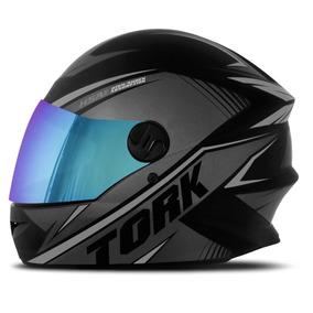 Capacete De Moto Pro Tork R8 Fechado Viseira Camaleão+brinde
