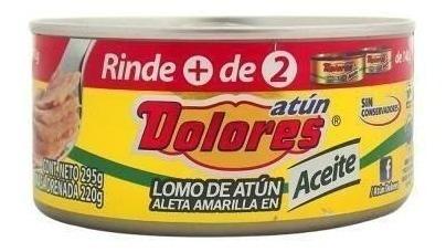 Dolores Atun Aceite 24/295 Gr