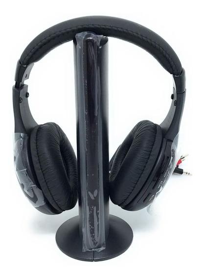 Fone De Ouvido Sem Fio 5 Em 1 Estéreo Para Pcs-tvs-p2 Rca