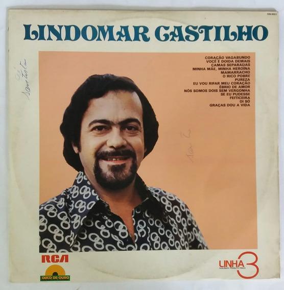 Lp - Lindomar Castilho - Disco De Ouro - Linha 3 - Rca 1979