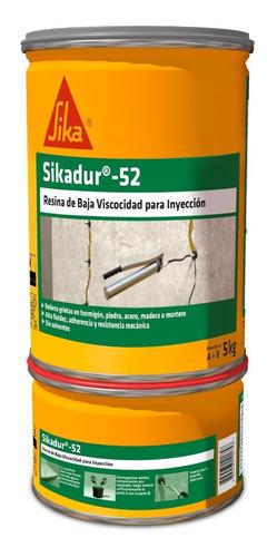 Imagen 1 de 5 de Sikadur 52 Resina Fluida De Inyección Para Sellar Y Unir 5kg