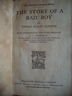 The Story Of A Bad Boy Thomas Bailey Aldrich Libro En Inglés