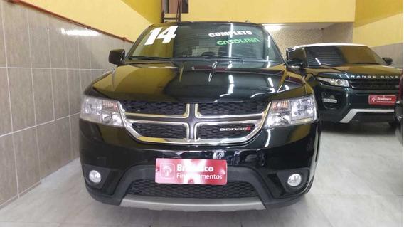 Dodge Journey Motor 3.6 2014 Preta 5 Portas