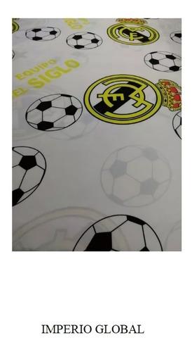 Juego De Sabana  Para Cama Semidoble Real Madrid