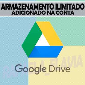 Google Drive Ilimitado - Adicionado À Sua Conta Gmail (8,99)