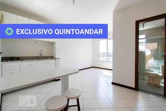 Apartamento No 4º Andar Com 1 Dormitório - Id: 892957204 - 257204