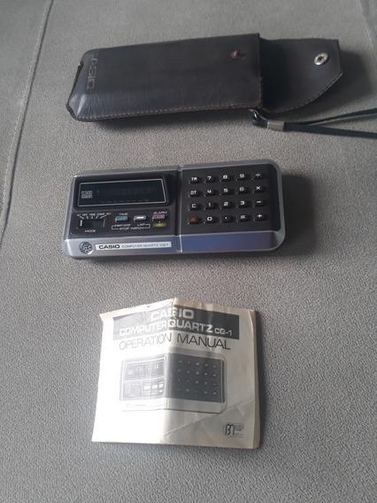 Calculadora Antiga Casio Computer Cq 1 Funcionando Parcial