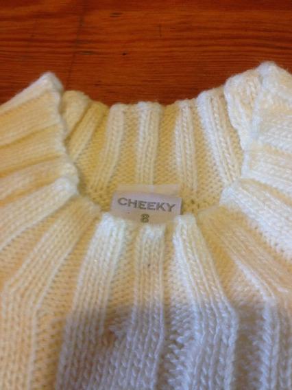 Sweater Cheeky Para Niños Con Trenzas Talle 8