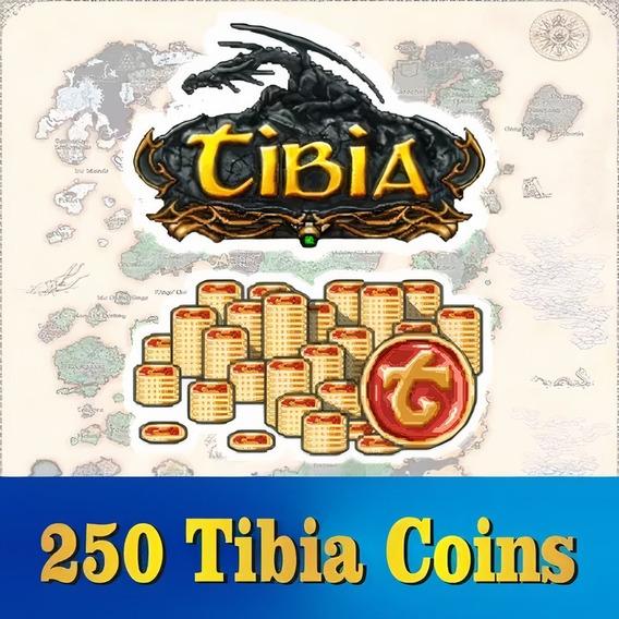 Tibia Coins (250 Tc) Transferível (todos Os Servidores)