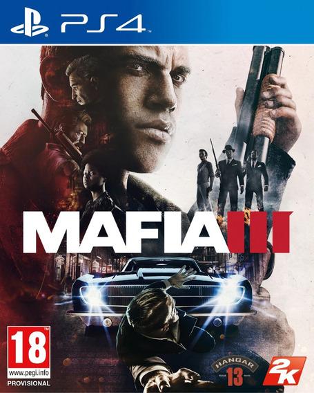 Jogo Mafia 3 Iii Playstation 4 Ps4 Mídia Física Original