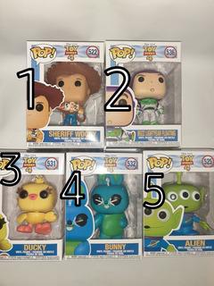 Funko Pop Figura Toy Story Varias Buzz Forky Woody Bunny