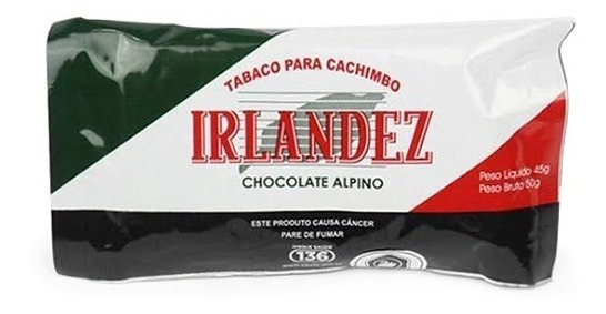 Irlandez Chocolate Alpino - Pct (50g)