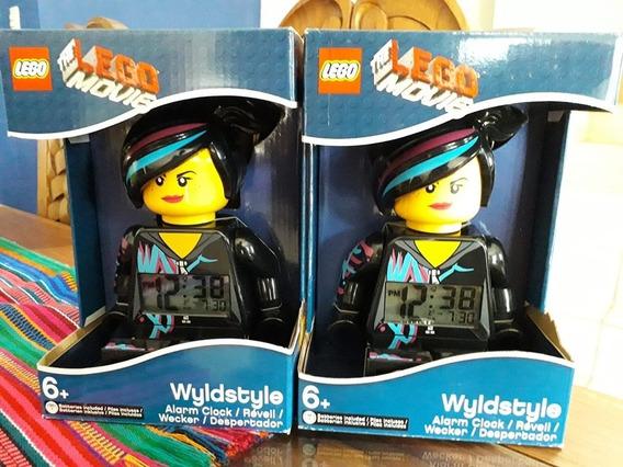 Reloj Despertador Lego Lucy Estilo Libre Nuevo