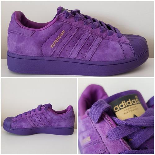 Triplicar chocar Deshacer  Zapatillas adidas Superstar Originales Violetas Envío Gratis | Mercado Libre