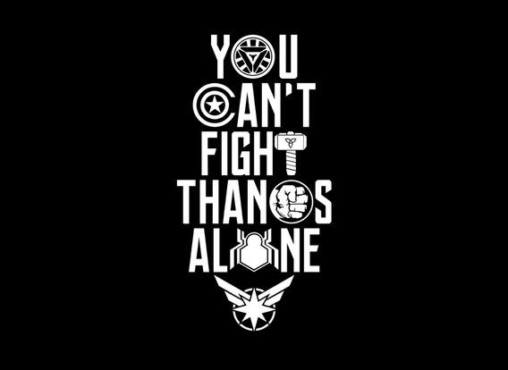 Playera Avengers Endgame - You Cant Thanos - Envio Gratis.