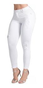 Calça Pit Bull Pitbull Pit Bul Jeans Sarja Branca 26651