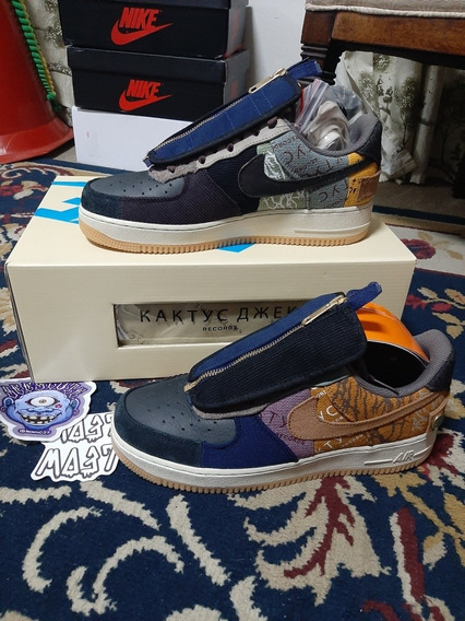 Tênis Nike Air Force 1 Cactus Jack