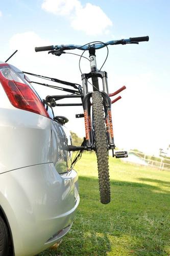 Imagem 1 de 2 de Transbike Suporte Para Transportar Até 2 Bikes No Carro