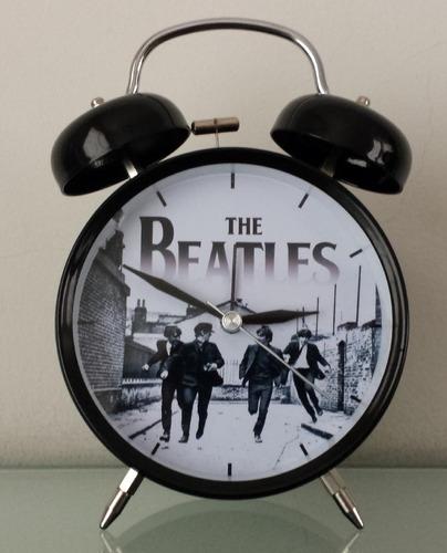 Reloj Despertador Estilo Vintage The Beatles - D Mesa Alarma