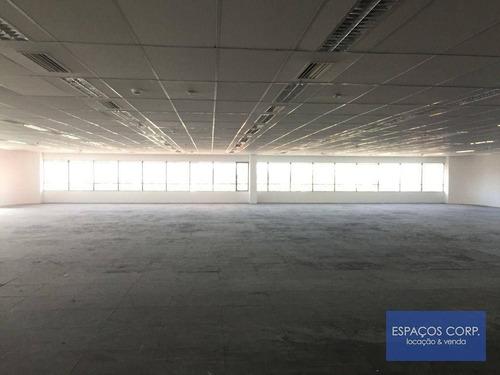 Imagem 1 de 22 de Laje Corporativa Para Alugar, 989m² - Brooklin - São Paulo/sp - Lj0661
