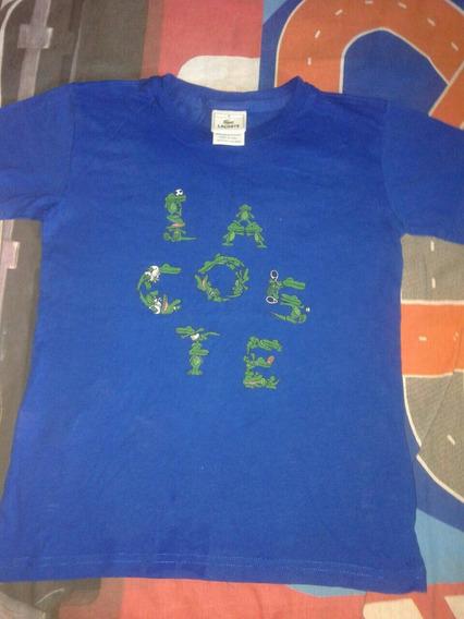 Camiseta Lacoste Tam 8 Usada