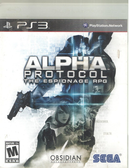 Alpha Protocol The Espionage Rpg Ps3 Fisica