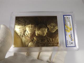Tarjeta Con Oro 23kt Beatles 1996 Edición Limitada Nueva