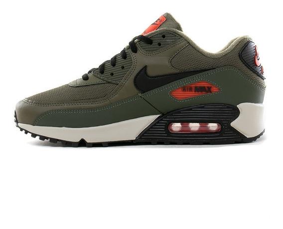 Hombres Nike Air Max 90 Cuero Blanco Calzado deportivo