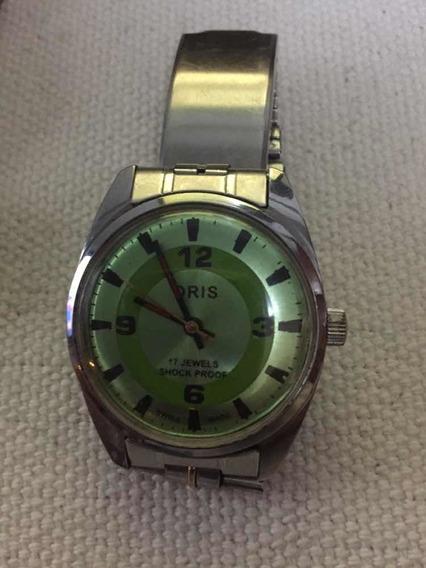Relógio De Pulso Oris 17 Jewels Shock Proof- Frete Grátis