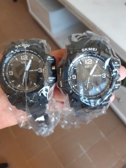 Relógio Skmei Preto Promoção