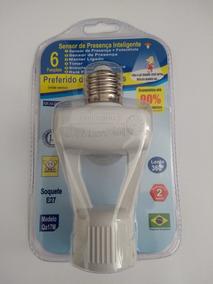 Sensor De Presença Com Soquete E27 Qualitronix Qa17 Bivolt