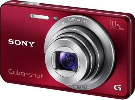 Câmera Digital Sony Cyber Shot Dsc-w690 Rosa
