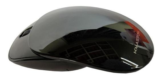Mouse Preto Sem Fio + Compatível Para Leptop E Desktop