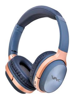 Audifonos Vak T20 Bluetooth Fm Entrada Sd Aux Diadema Girato