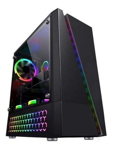 Cpu Gamer Intel I5 3.1+memória Ram 8gb + Rx 580 8gb + Hd 1tb
