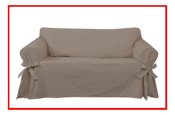Capa Exclusiva Para Sofá De 4 Lugares Feita Em Gorgurão