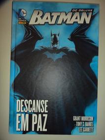 Batman Descanse Em Paz Deluxe Panini 2014 Excelente