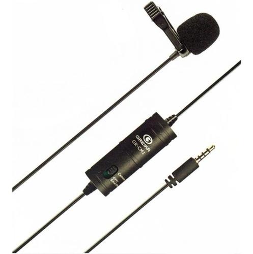 Microfone De Lapela Greika Gk-lm1