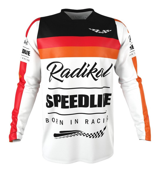 Jersey Concept Flag Stripe - Radikal - Motocross / Atv