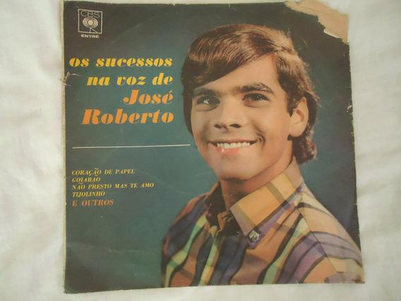 Lp - José Roberto - 1.967 - Os Sucessos Na Voz De José Rober
