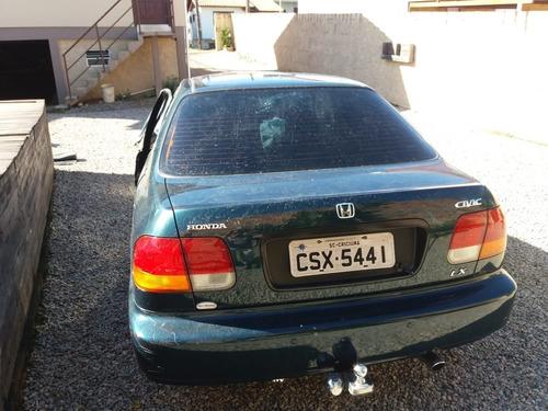 (4) Sucata Honda Civic 1.6 2000 Aut. (retirada Peças)